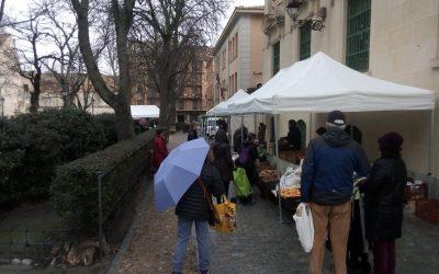 Mercado de Productos Ecológicos en Segovia el próximo sábado, 3 de abril