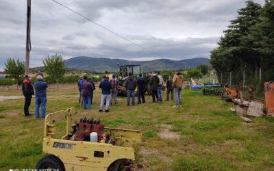 Curso «Manipulador de productos fitosanitarios. Nivel Cualificado» Cebreros. Ávila. 22 de marzo al 21 de abril
