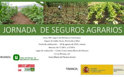JORNADA SEGUROS AGRARIOS EN LEÓN