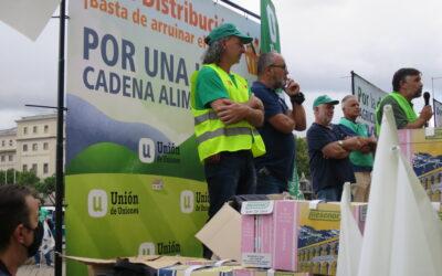 UCCL a la distribución «El sistema agroalimentario no puede sostenerse sobre unos precios en origen permanentemente tensionados a la baja»